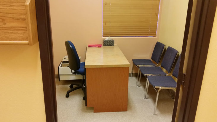 Example of Consultation Room, Sun Valley Research Center, Inc.